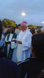 Pilgrimage to see Pope Francis 2015